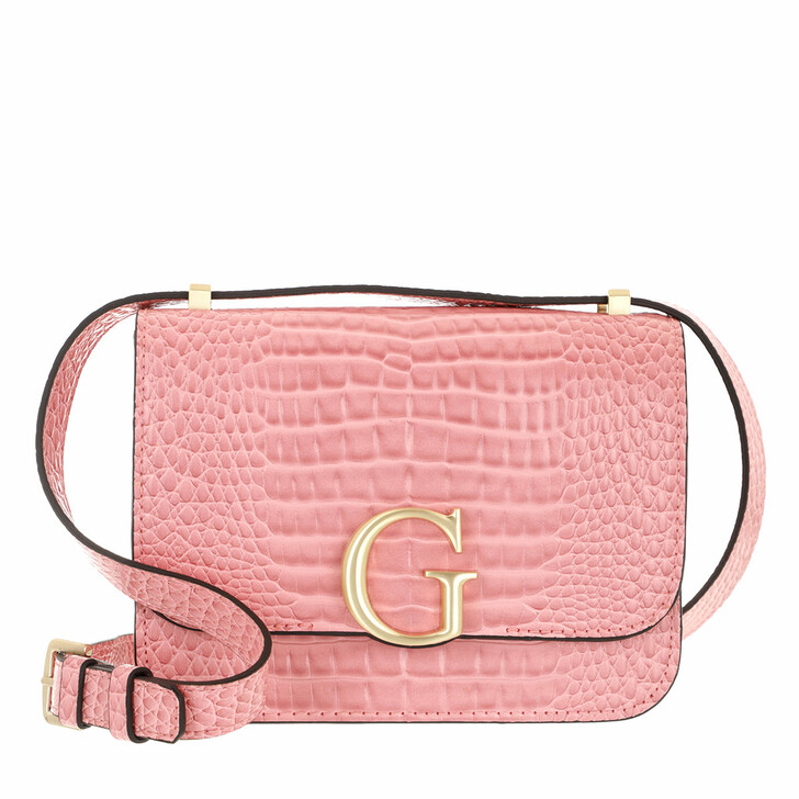 Handtasche, Guess, Corily Convertible Xbody Flap Rose