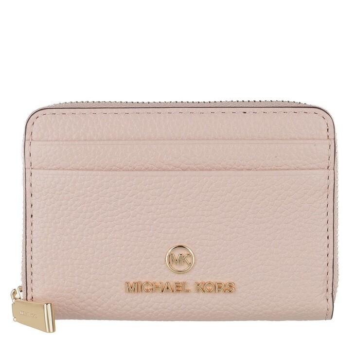 Geldbörse, MICHAEL Michael Kors, Small Za Coin Card  Soft Pink