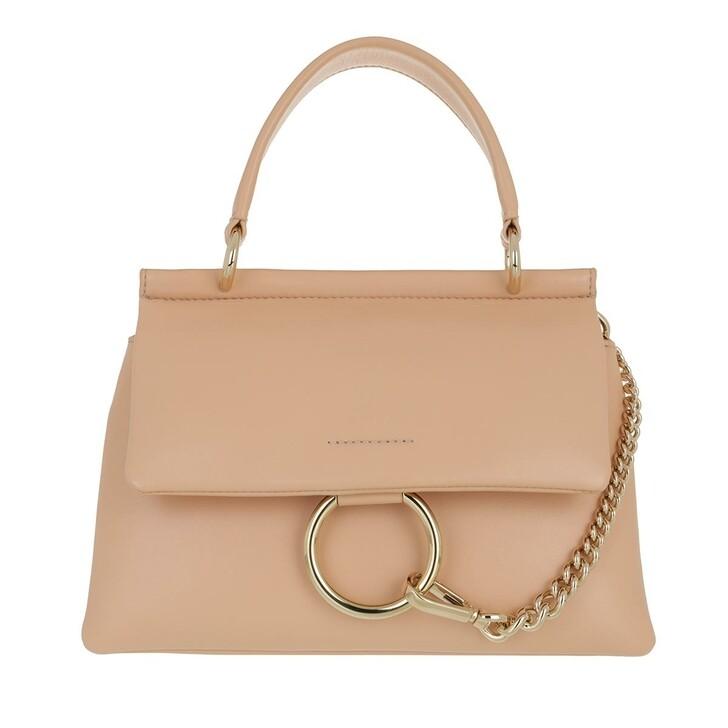 bags, Chloé, Small Faye Soft Top Handle Bag Sandy Beige