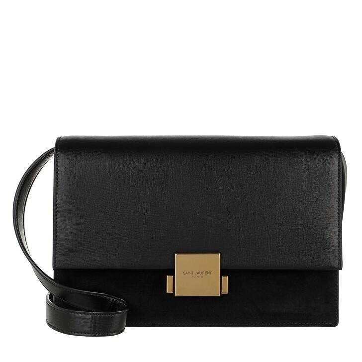 bags, Saint Laurent, YSL Bellechasse Crossbody Bag Black