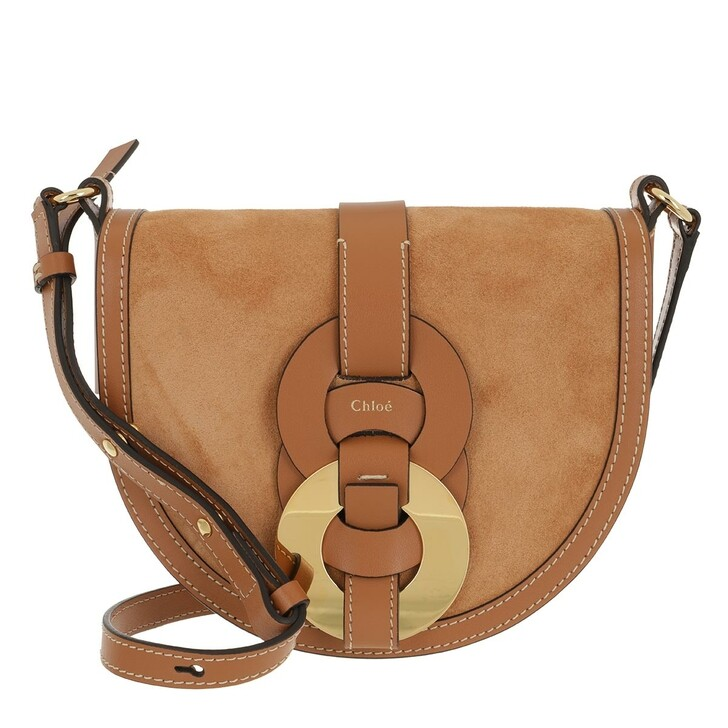 Handtasche, Chloé, Crossbody Bag Leather Arizona Brown