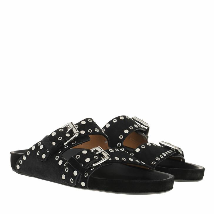 Schuh, Isabel Marant, Lennyo Sandals Black