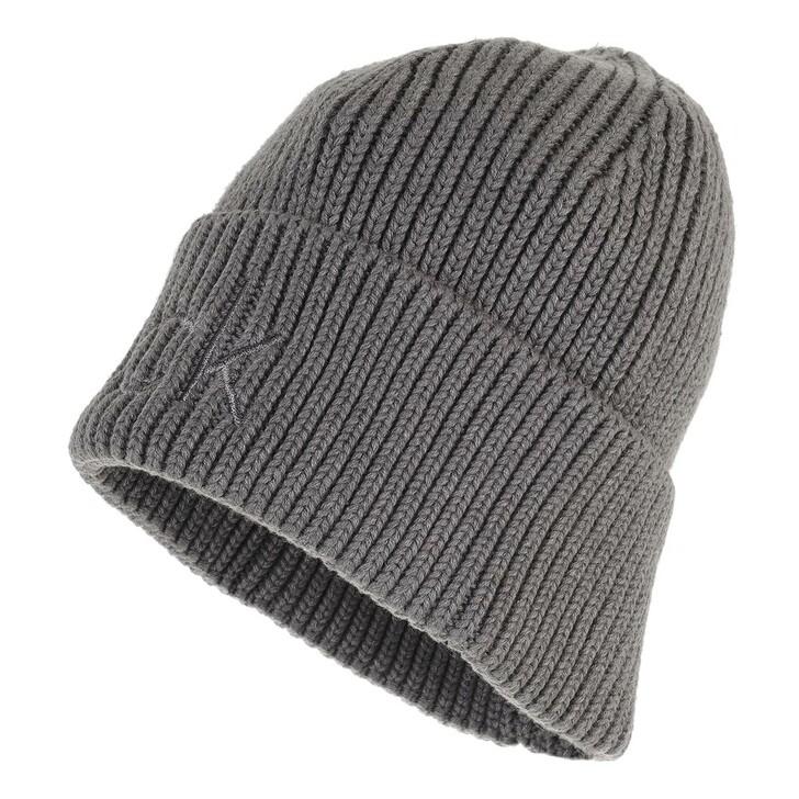 hats, Calvin Klein, Essentials Beanie Mid Grey Heather