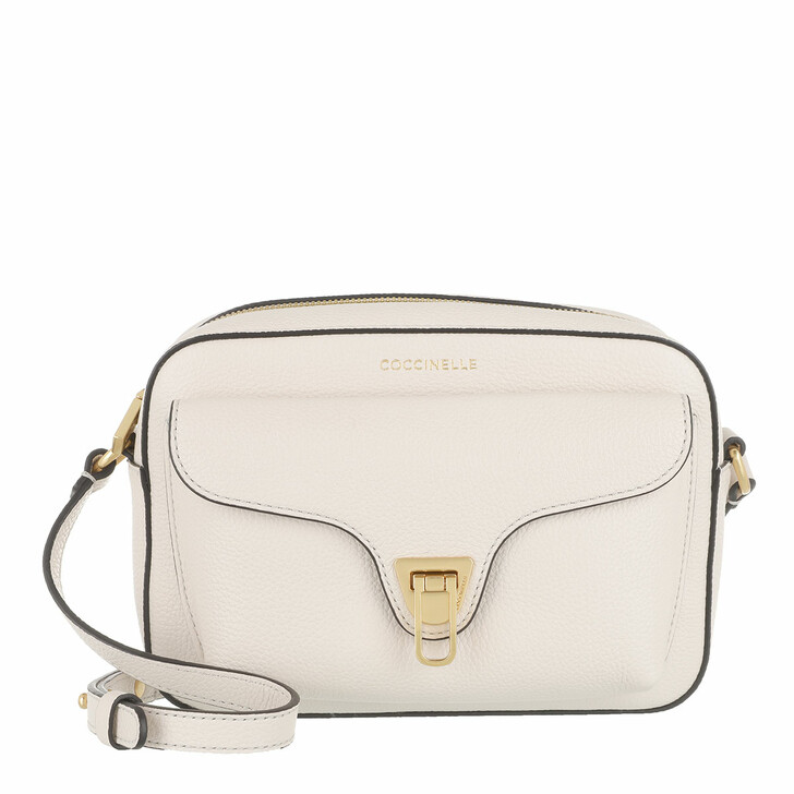 Handtasche, Coccinelle, Beat Soft Mini Crossbody Bag Lambskin White