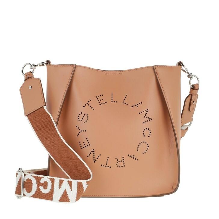 Handtasche, Stella McCartney, Logo Shoulder Bag Camel