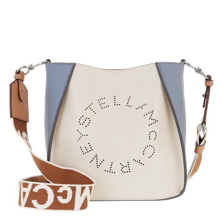 bags, Stella McCartney, Logo Shoulder Bag White/Multi