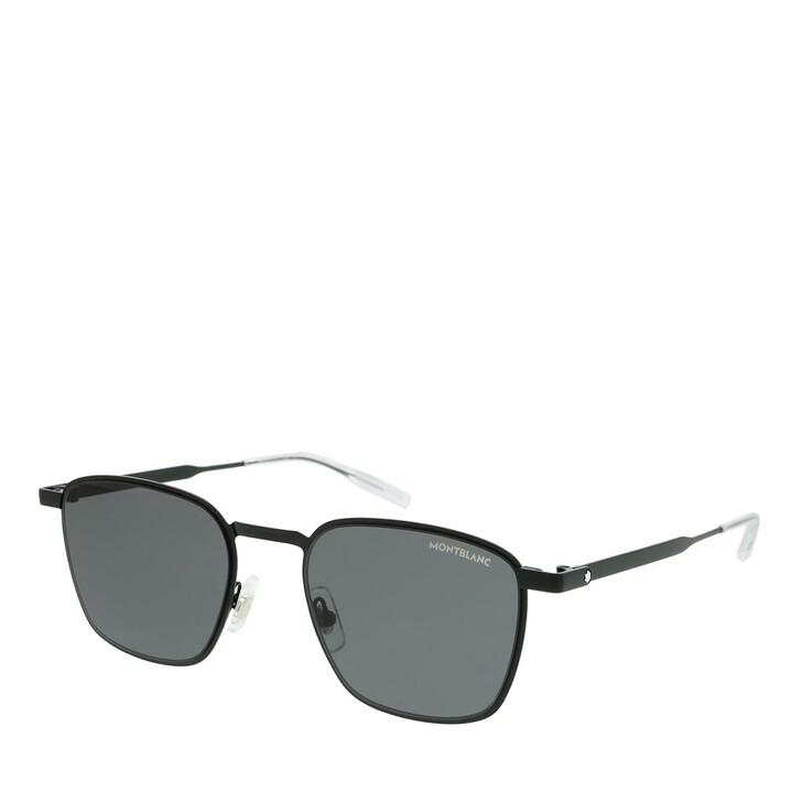 Sonnenbrille, Montblanc, MB0145S-001 51 Sunglass MAN METAL BLACK