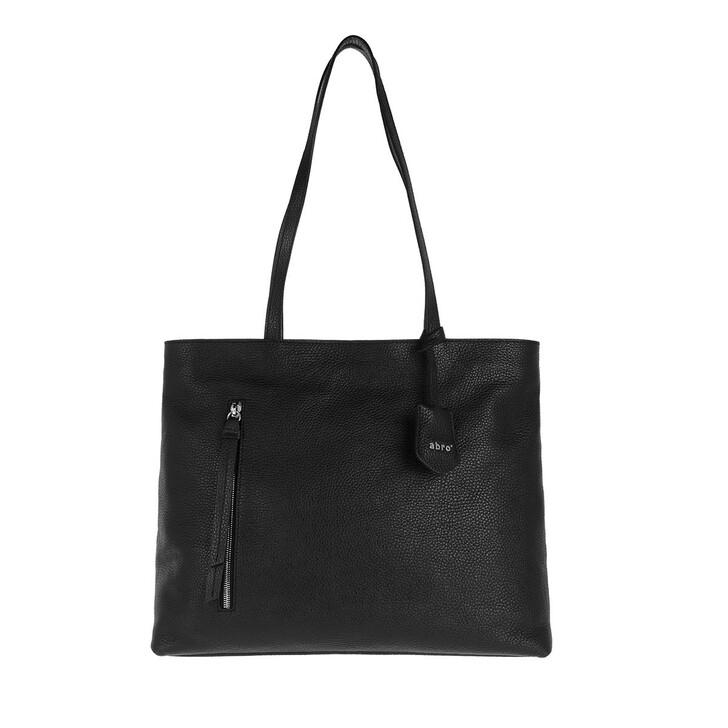 bags, Abro, Shopper JUNA  Black/Nickel