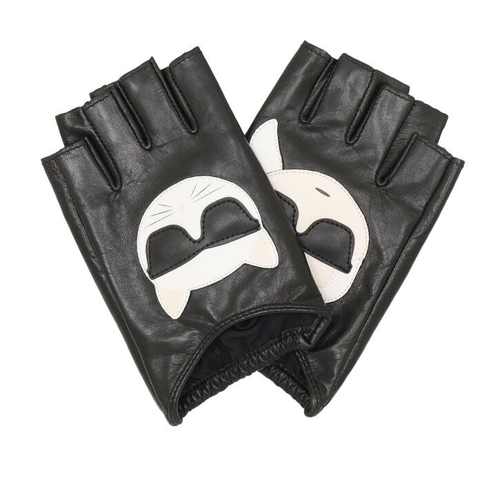 Handschuh, Karl Lagerfeld, K/Ikonik Glove  Black