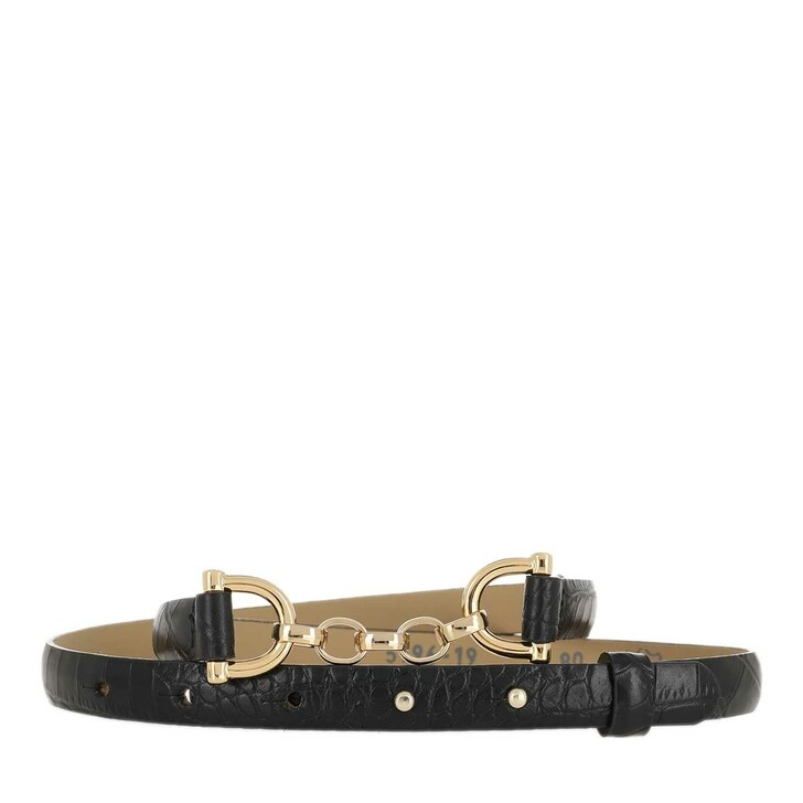 Gürtel, Abro, Belt Black