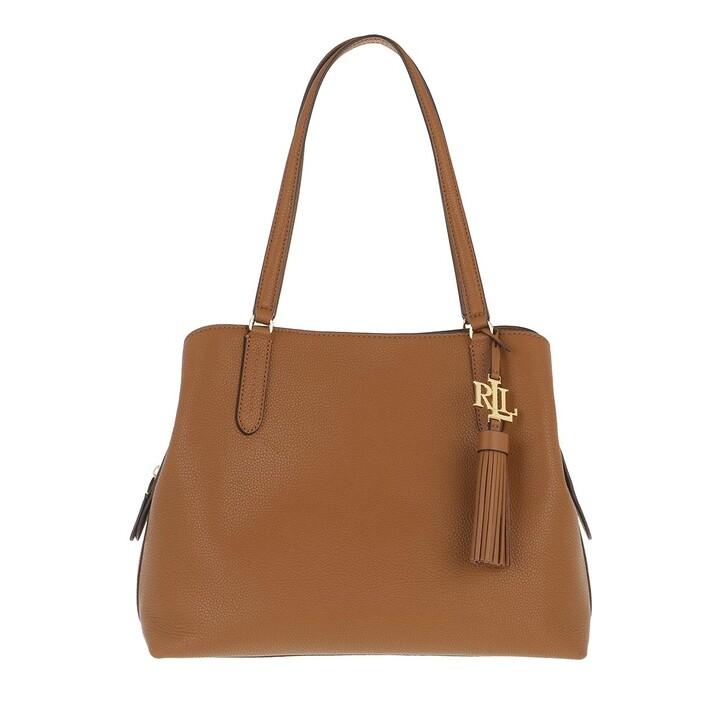Handtasche, Lauren Ralph Lauren, Quinn 34 Shoulder Bag Large Lauren Tan