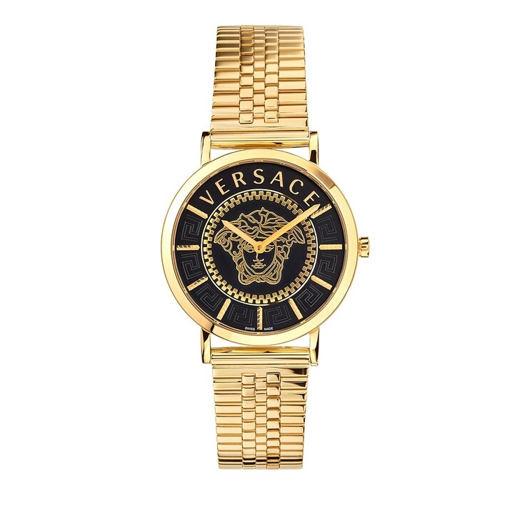 watches, Versace, VERSACE ESSENTIAL Watch Champagne