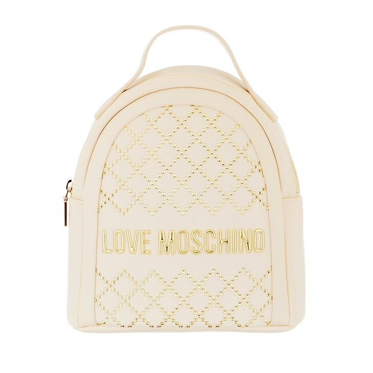 Reisetasche, Love Moschino, Backpack Avorio