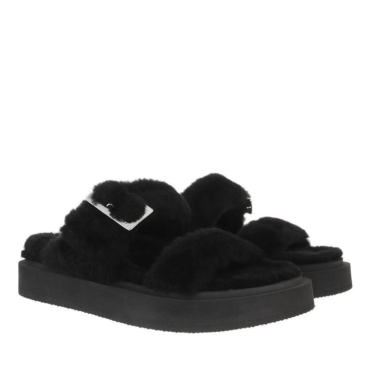 shoes, Giuseppe Zanotti, Slipper Black