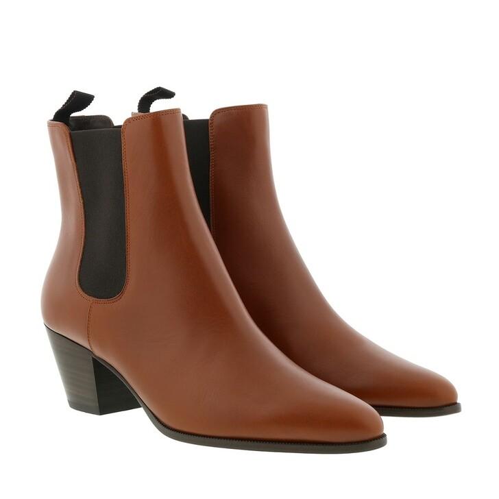 Schuh, Celine, Saint Germain Des Pres Boots Leather Caramel