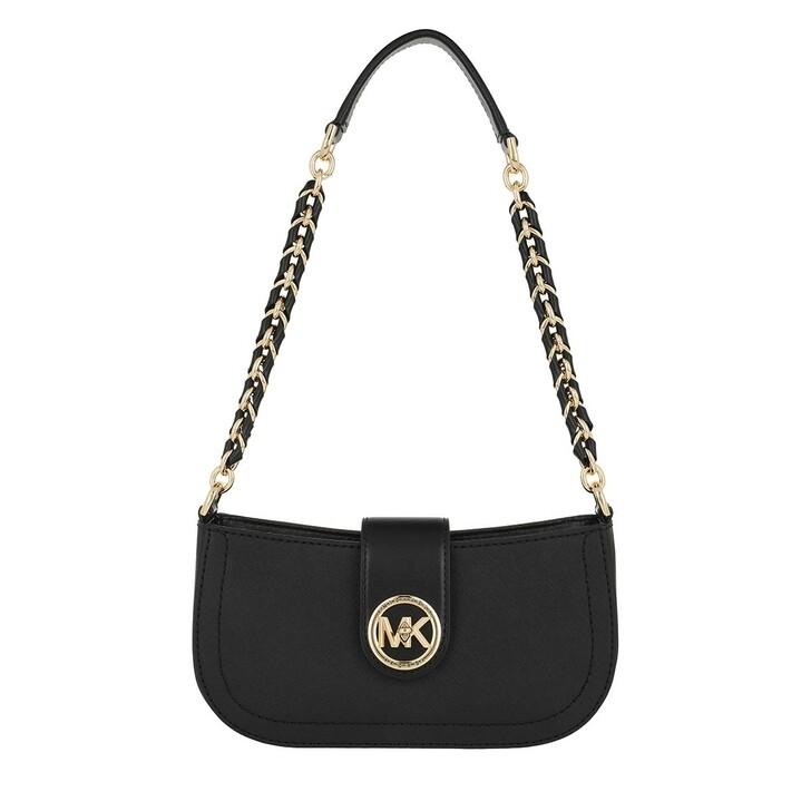 Handtasche, MICHAEL Michael Kors, Carmen XS Pouchette Black