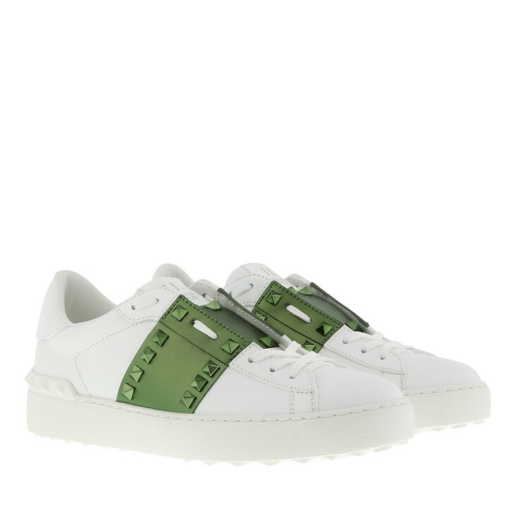 Schuh, Valentino Garavani, Open Sneakers Bianco/Oasis