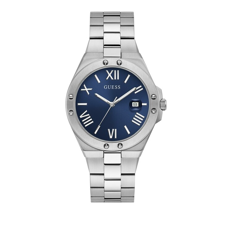 watches, Guess, Mens Watch Perspective Silver