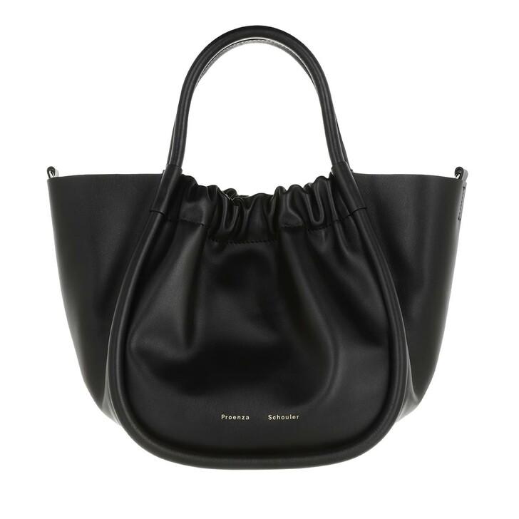 Handtasche, Proenza Schouler, Small Ruched Crossbody Tote Black