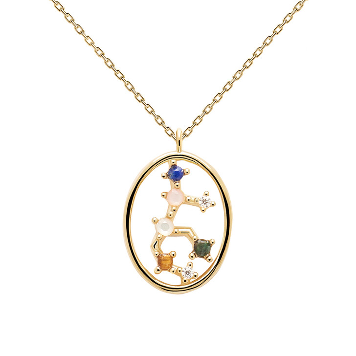 Kette, PDPAOLA, Necklace VIRGO Yellow Gold