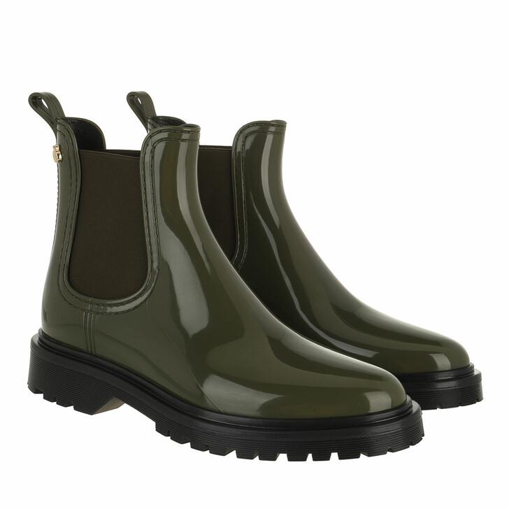 shoes, Lemon Jelly, Block 18 Chelsea Boot Military Green