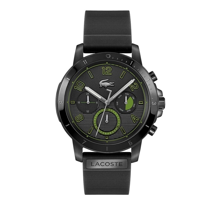 Uhr, Lacoste, multifunctional watch Black