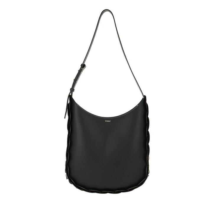 Handtasche, Chloé, Darryl Shoulder Bag Leather Black