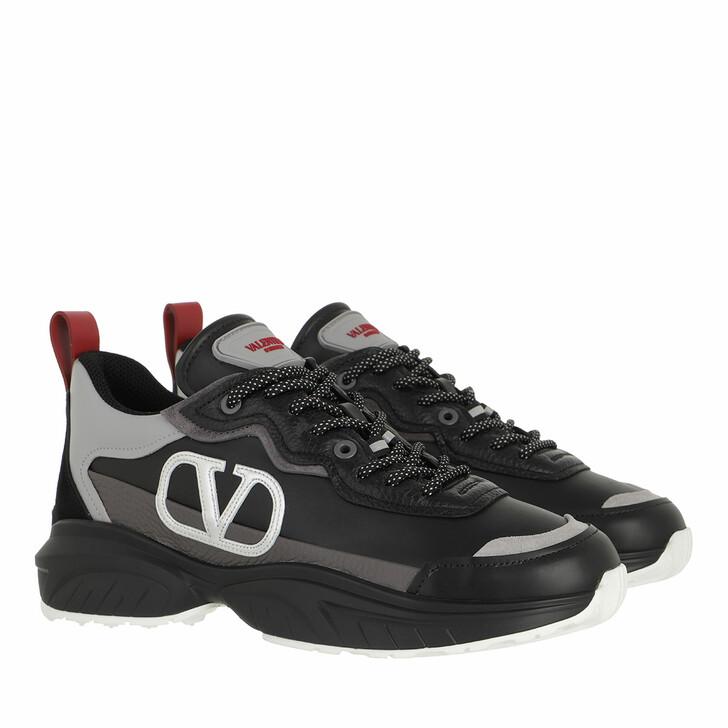 Schuh, Valentino Garavani, Shegoes Sneakers Black/Pastel