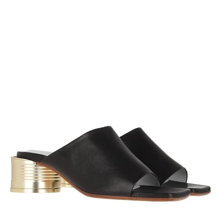 Schuh, MM6 Maison Margiela, Sandal Black