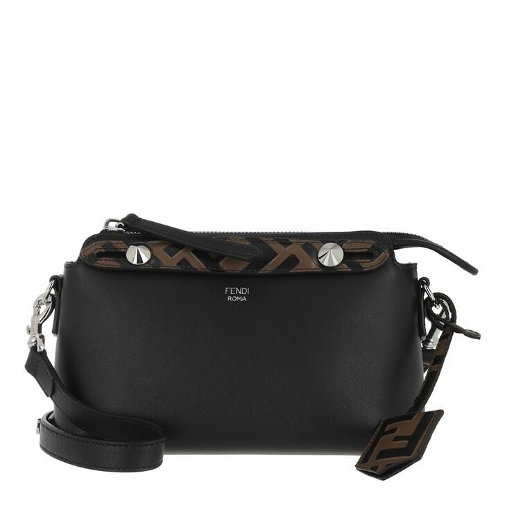 Handtasche, Fendi, By The Way Mini Boston Bag Leather Black Brown