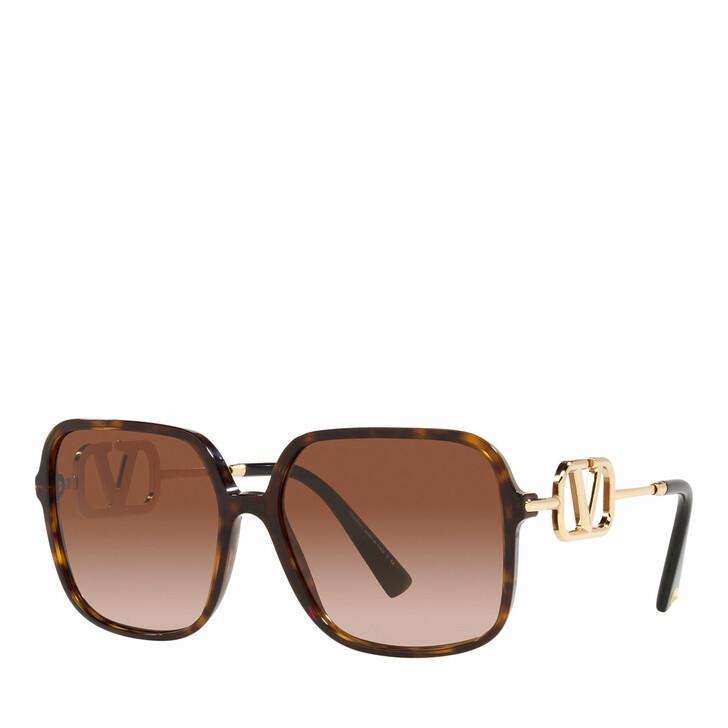 sunglasses, Valentino Garavani, Woman Sunglasses 0VA4101 Havana