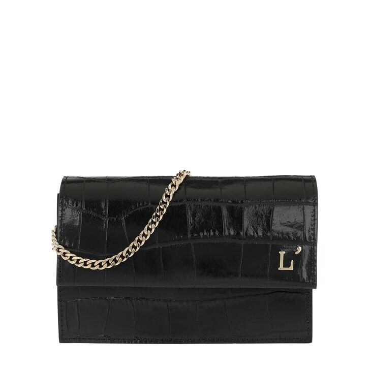 Handtasche, L´Autre Chose, Printed Pouch Black