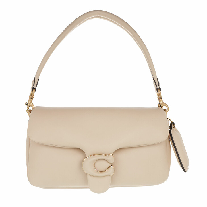 Handtasche, Coach, Leather Covered C Closure Pillow Tabby Shoulder Ba B4/Ivory