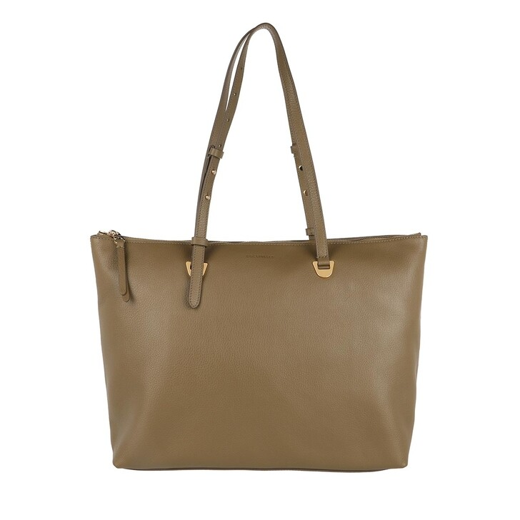 bags, Coccinelle, Lea Handbag Grained Leather Moss Green