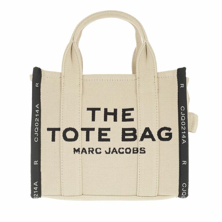 bags, Marc Jacobs, The Jaquard Mini Tote Bag Warm Sand Melange
