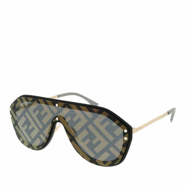 Sonnenbrille, Fendi, FF M0039/G/S Black Gold