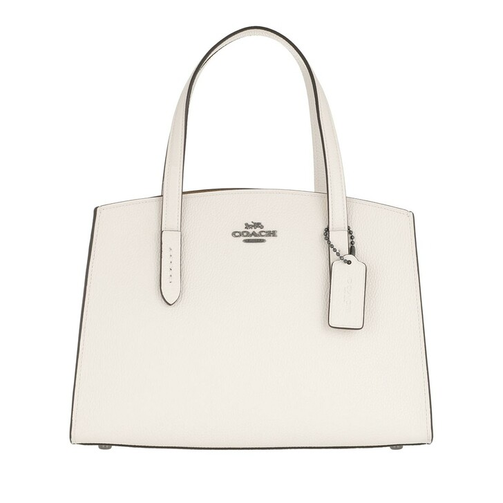 Reisetasche, Coach, Polished Pebble Leather Charlie Carryall Chalk