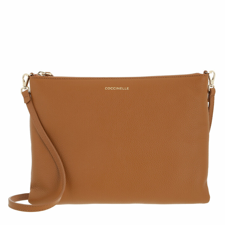 bags, Coccinelle, Mini Bag Mini Bag Bottalatino Leather Caramel
