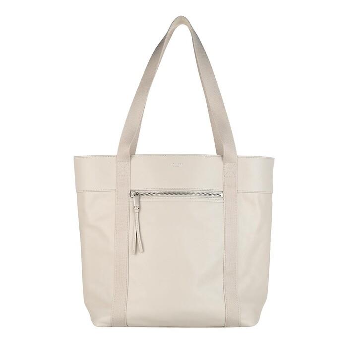 Handtasche, Saint Laurent, Daily Cabas Shopper Blanc Vintage