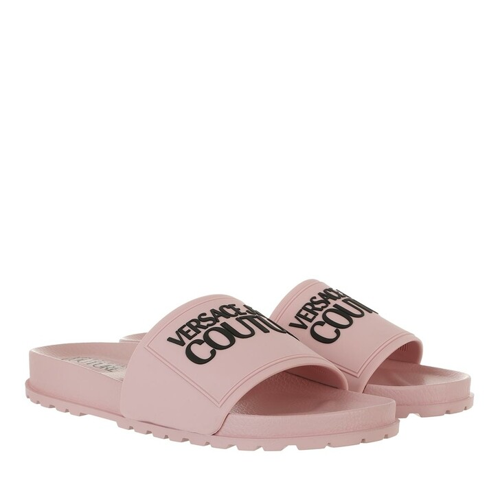 shoes, Versace Jeans Couture, Pool Sliders Dust Rose