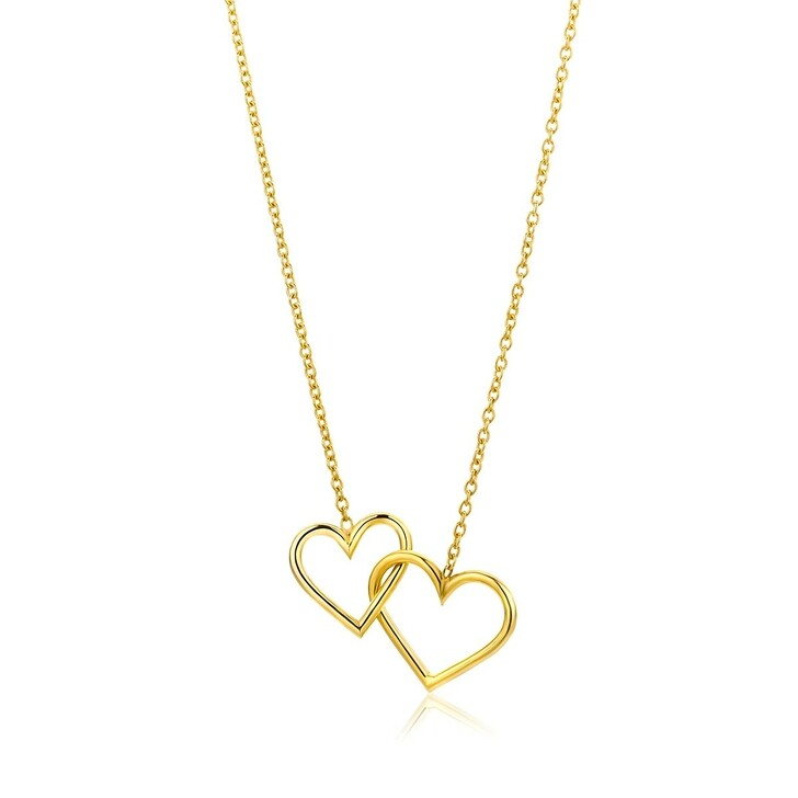 Kette, DIAMADA, 9KT Necklace Yellow Gold