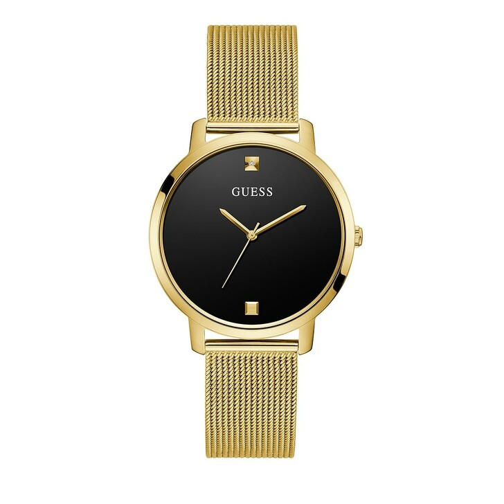 Uhr, Guess, Ladies Dress Stainless Steel/Mesh Watch Gold Tone