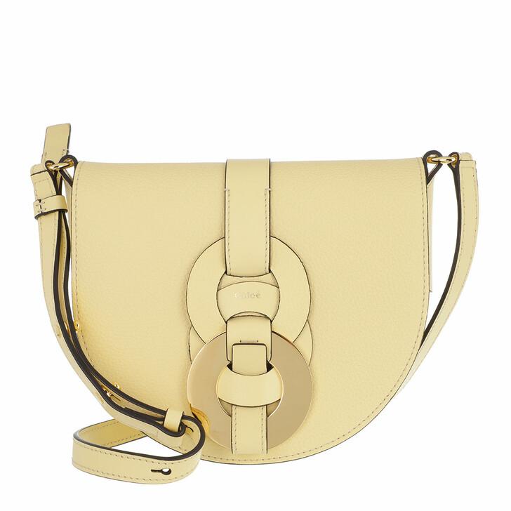 bags, Chloé, Small Darryl Crossbody Bag Calfskin Softy Yellow