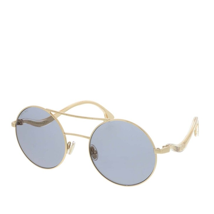 Sonnenbrille, Jimmy Choo, MAELLE/S Sunglasses Light Gold Lilac