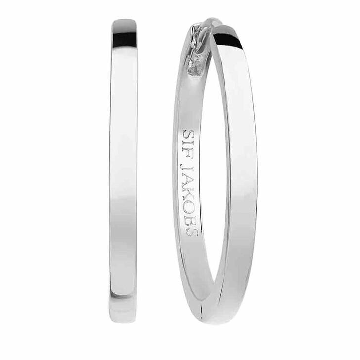 earrings, Sif Jakobs Jewellery, Ellera Pianura X-Grande Earrings Sterling Silver 925