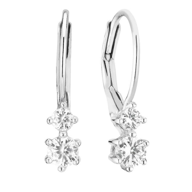 earrings, Sif Jakobs Jewellery, Rimini Due Earrings Sterling Silver