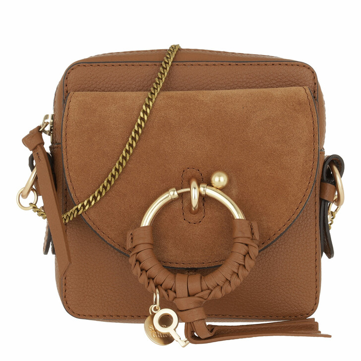 Handtasche, See By Chloé, Joan Camera Bag Leather Caramello