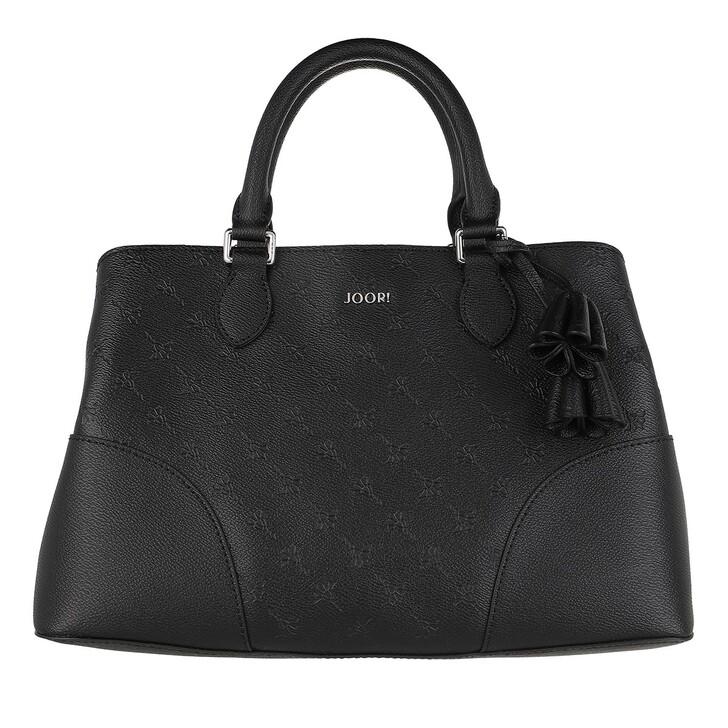 bags, JOOP!, Cortina Stampa Emery Handbag Shf Black