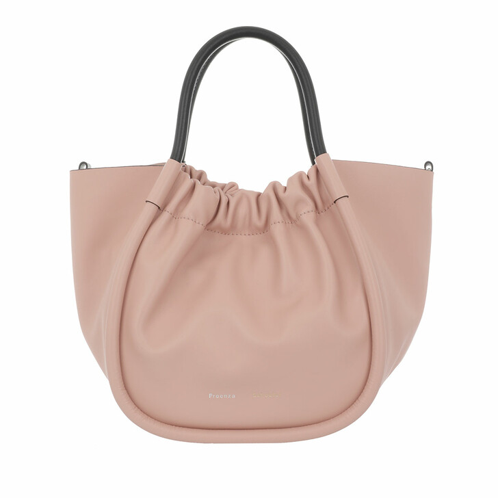 Handtasche, Proenza Schouler, Small Ruched Tote Bag Cameo Rose