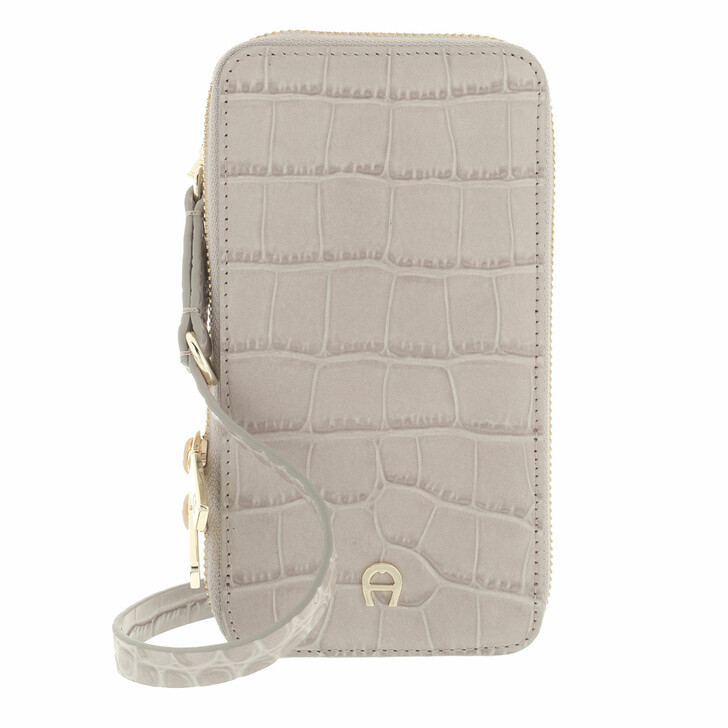 smart_cases, AIGNER, Fashion Mobile Case Clay Grey